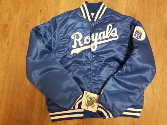 YOUTH MEDIUM Kansas city royals starter jacket,vin