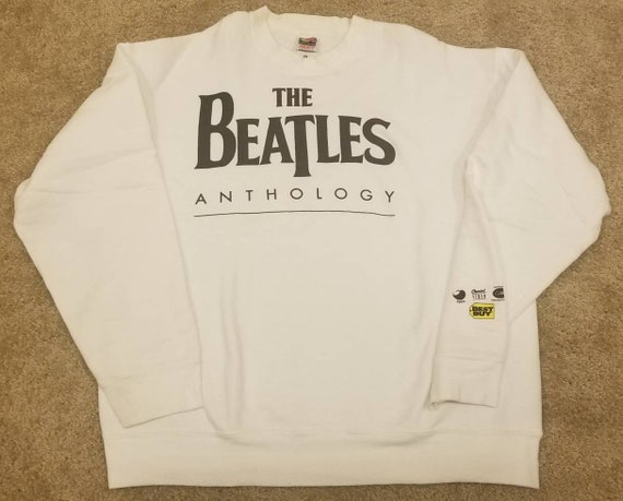XL 1995 vintage Beatles Anthology sweatshirt ,the