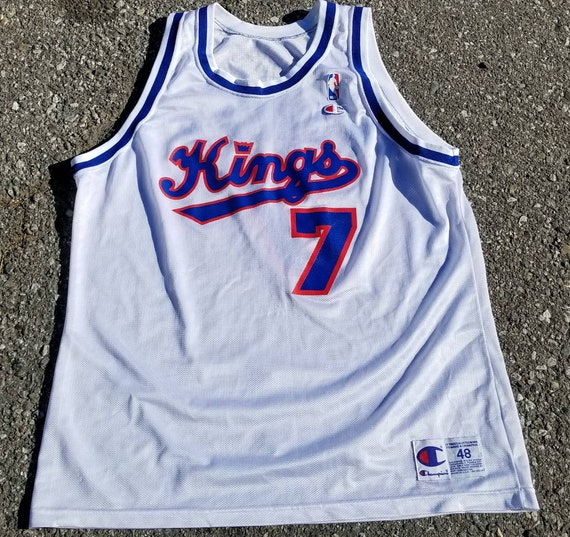 d3200d6fcb2f Size 48 champion Sacramento kings jersey Vintage champion