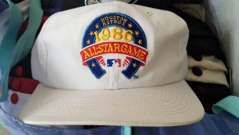 best website 6dea6 adf80 Houston astros snapback hat 80s sports specialties hat mlb baseball  snapback 1986 mlb all star game astrodome