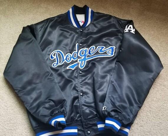 90s true size XL LA Dodgers starter jacket, los angeles dodgers jacket
