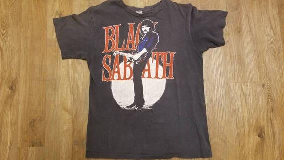1986 black Sabbath tour shirt,hanes shirt ,concert