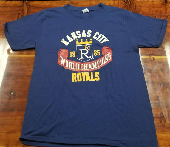 Large Kansas city royals shirt, 1985 world Series