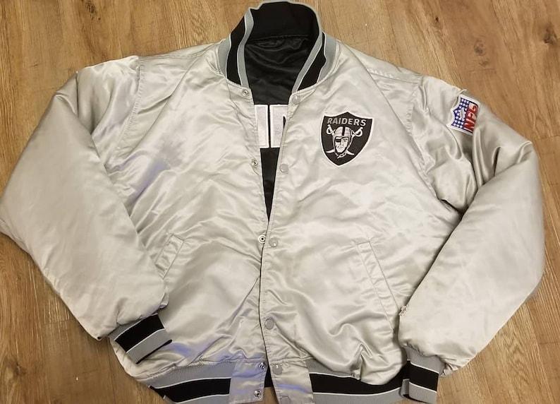 42586119 True XL reversible raiders starter jacket, 90s raiders satin jacket, Las  Vegas Raiders,oakland raiders, LA Raiders,NWA,public enemy, Run Dmc