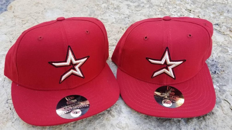 quality design 31559 079de Houston astros hat 90s new era fitted size 7 7 1 8 7 5 8 7   Etsy