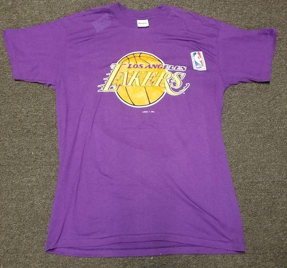 New original 80s Medium LA Lakers shirt, LA lakers