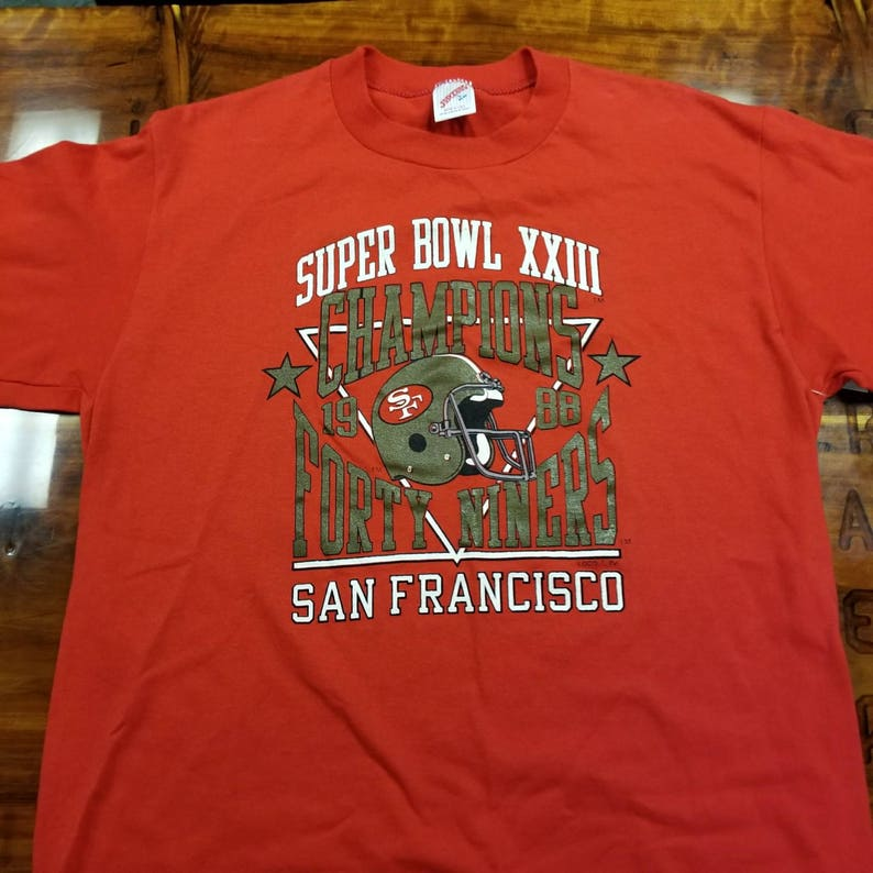 4c42768e0 New Large vintage superbowl 23 shirtSan Francisco 49ers