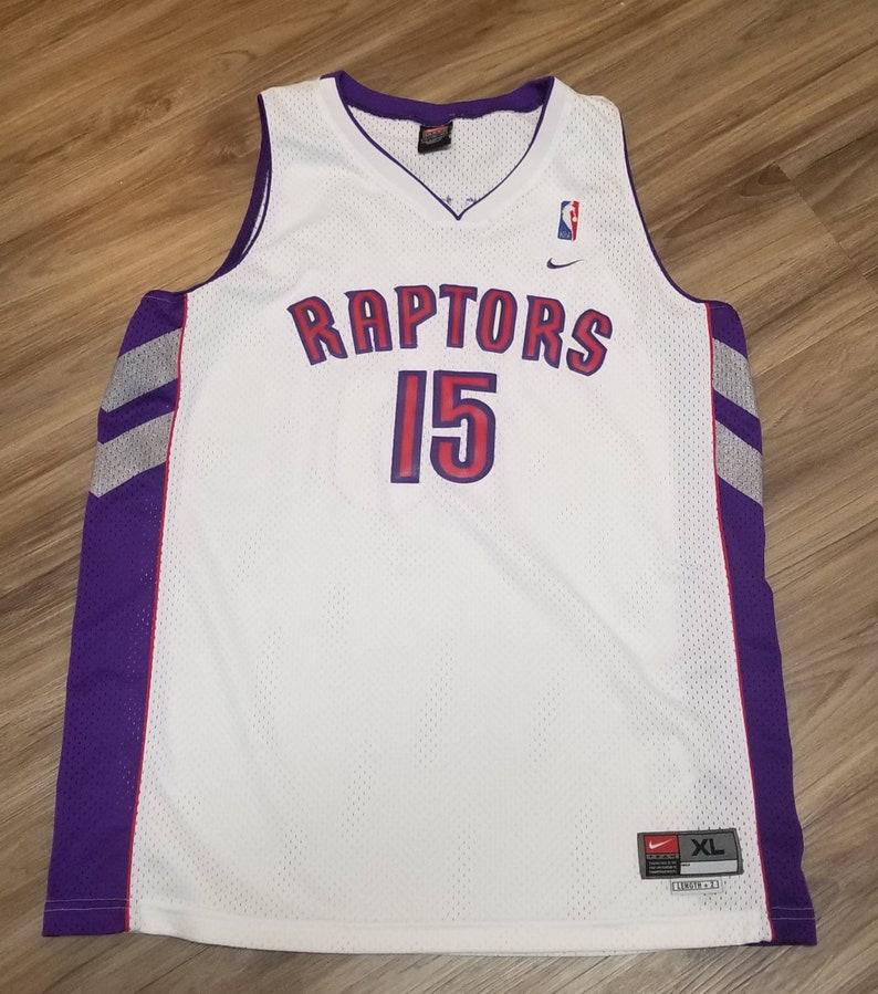 size 40 bef81 2617a Xl 1998-1999 Vince Carter Nike Toronto Raptors Jersey swingman jersey