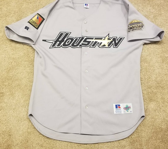 1994 houston astros jersey, russell authentic diam