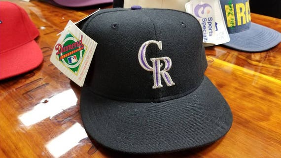 New 90s Colorado Rockies hat size 7 3 4 rockies hat vintage  6e04007c579