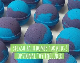 Splash Bath Bombs for Kids [25 Pack] | Optional Toy Included | Wholesale Kids Bath Bombs | Wholesale Bath Bombs