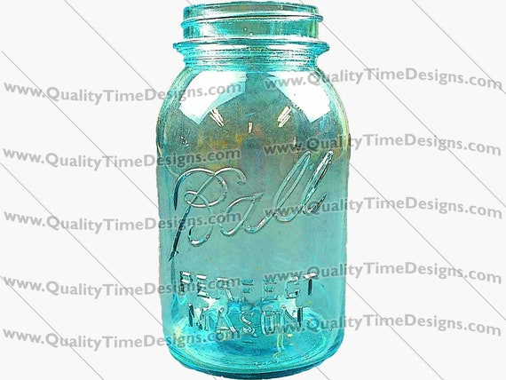 Clipart - Ball Jar 101 - by Quality Time Designs