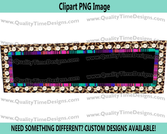 Rectangle Marquee Frame 001 Marquee Sign Frame with Lights Vegas Sign Clipart - by Quality Time Designs