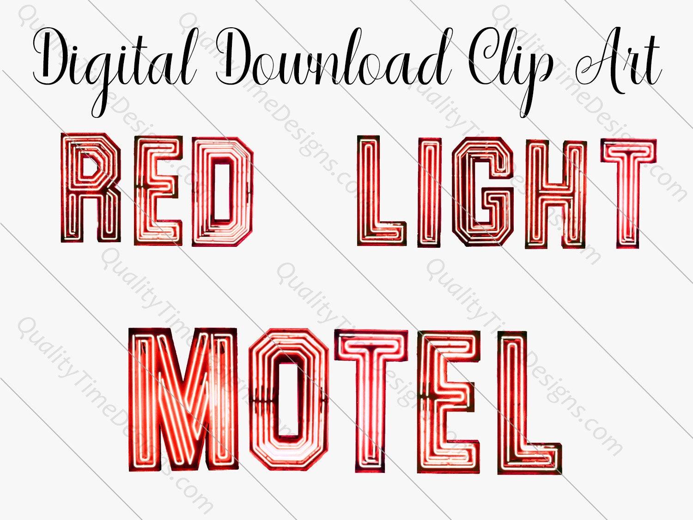 Red Vintage Clip Art