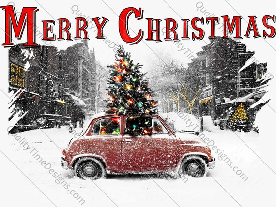 Christmas Clipart Transparent Background.Merry Christmas Clip Art Transparent Background Sublimation Printing Transfer Clipart Holiday Festivity Decoration Graphic Vintage
