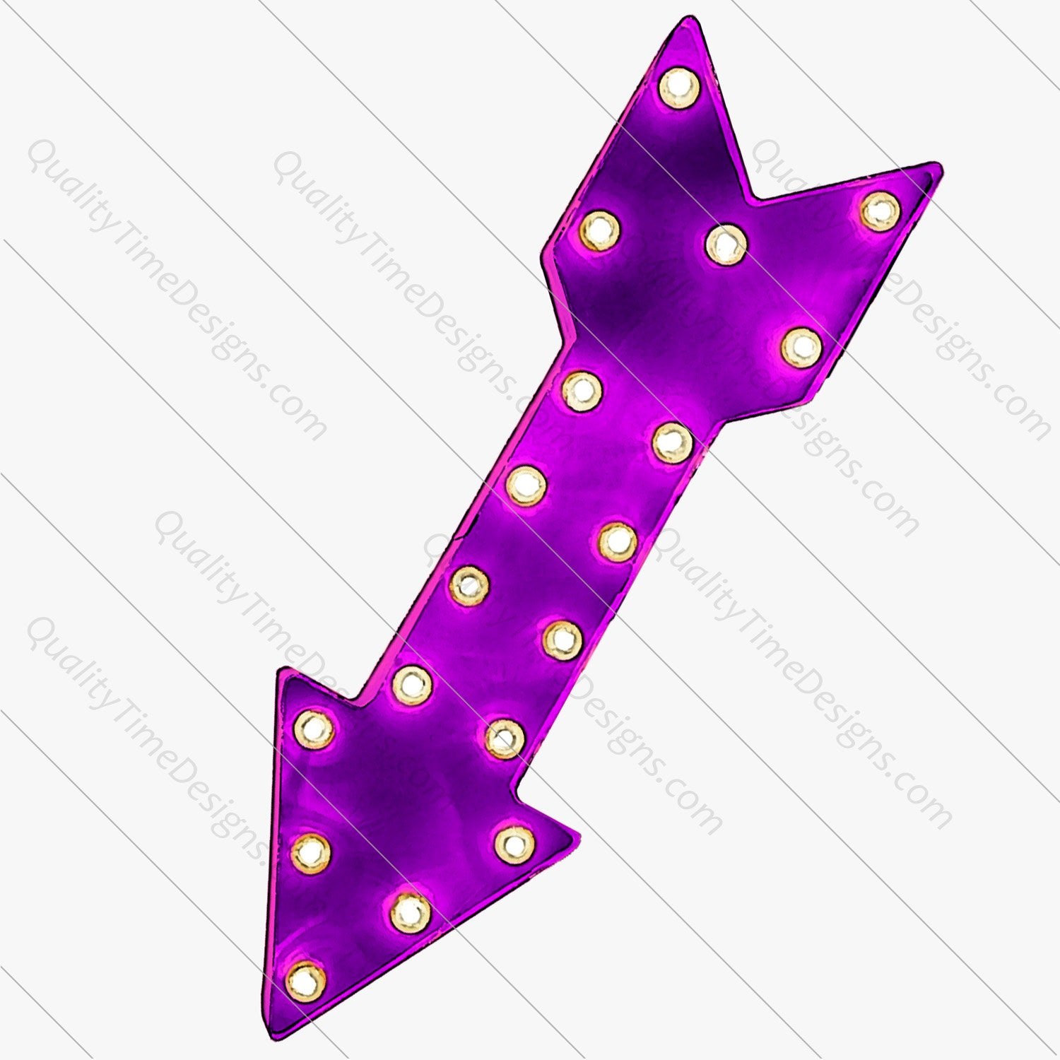 Purple Marquee Arrow Clipart | png images with transparent