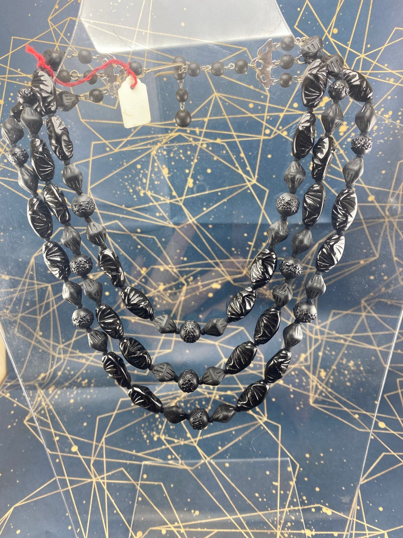 Vintage glass chain made in germany