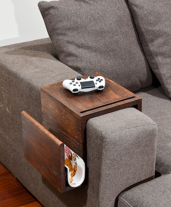 Multifunctional Couch Arm Table Wood Arm Rest Tray Couch | Etsy