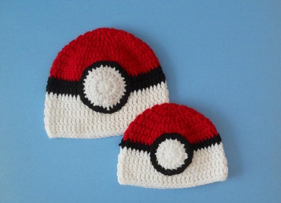 Pokeball Beanie Hat Skull cap Pokemon  1a78902e3d4d