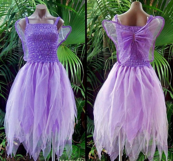 Women/'s Fairy Dress Costume with Sleeves /& Wings--Mint /& Pink Princess
