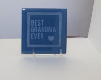etched glass tile