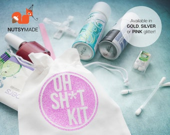 Hens Party Favour Bags - Hangover Kit Bags - DIY Favour Bag - Bridesmaid Gift - Bridal Shower - Bride Tribe - Survival Kit - Recovery Kit