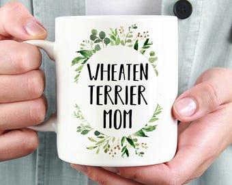 Wheaten Terrier Mom Mug, Wheaten Terrier Gift, Dog Mom, Dog Mug, Dog Breed, Custom Mug, Coffee Mug, Dog Dad, New Dog, Puppy, Wheaten Mom Mug