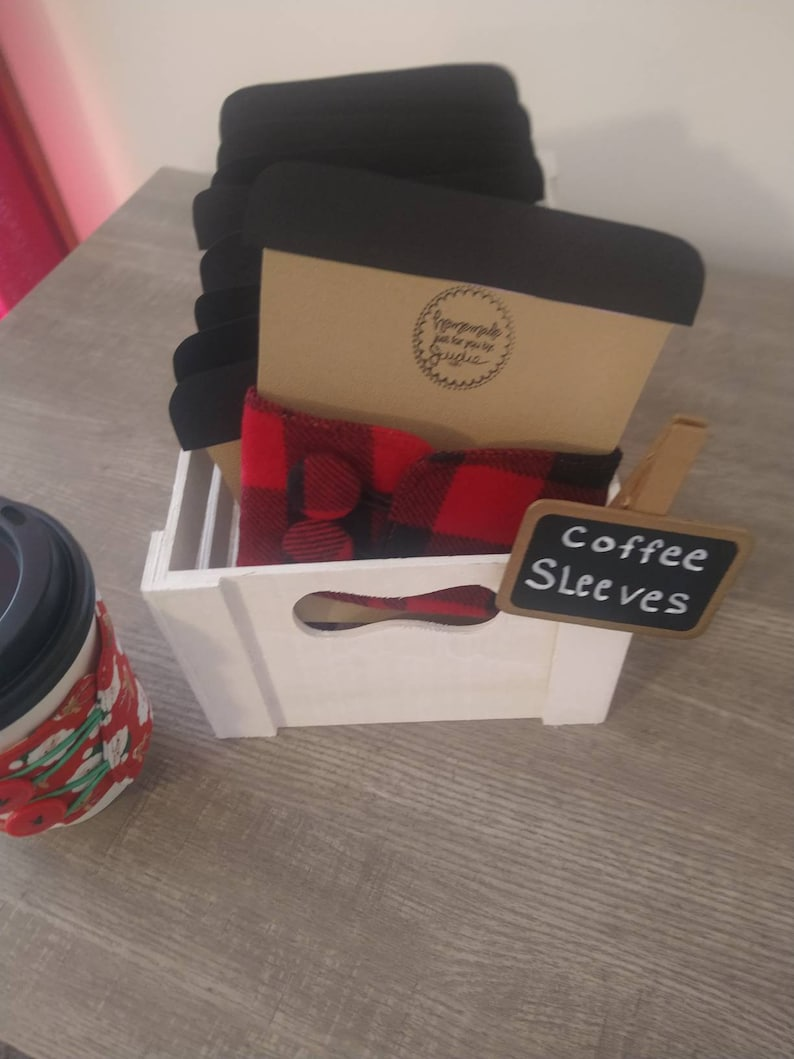 Wholesale package of fabric reusable washable coffee cup image 0