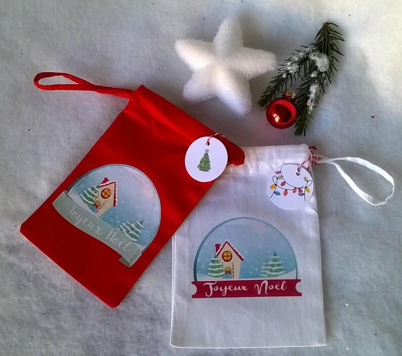 0b9adbc230cd2 Weihnachts-Geschenktüte Weihnachten rote oder weiße Tuch