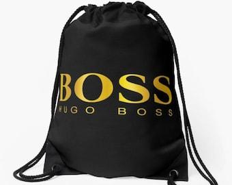 05364001e7b Designer inspired Boss Drawstring Bag Giv Paris Supreme White Gym Boxing Backpack  Rucksack Bape Anti Social Baby Nappy Hypebeast Kids School
