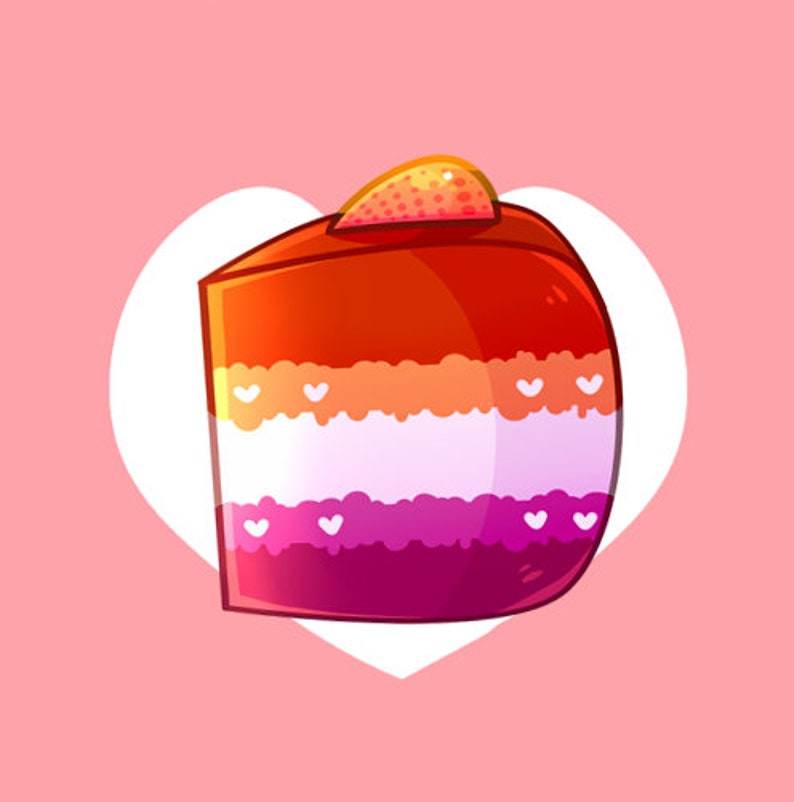 Cake Buttons LGBT