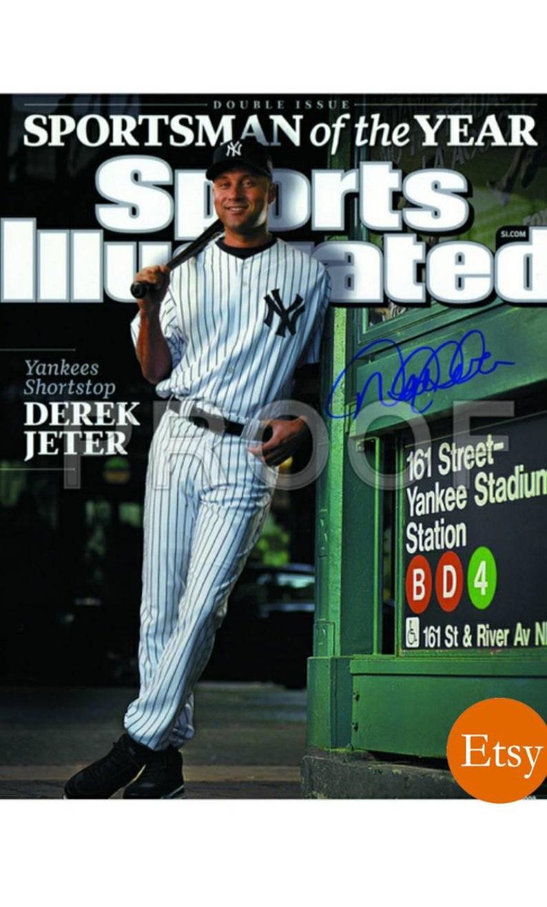 "24/"" sizes Derek Jeter poster wall art home decor photo print 16 20"
