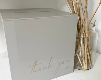 Pick Up In VIC ONLY - Wishing Well | Wedding  & Engagement decor | Cards and Wishes | Cards + Gifts Wishing Well box