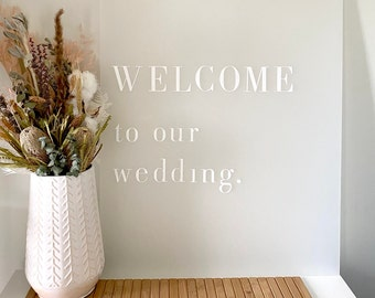 Pick Up // FOR HIRE - VIC  | Signs | Welcome sign | Wedding reception | Party Prop | sign stand | backdrop