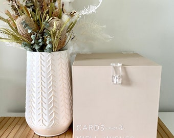 Pick Up // HIRE VIC  ONLY - Wishing Well | Wedding  & Engagement decor | Cards and Wishes | Cards + Gifts Wishing Well box
