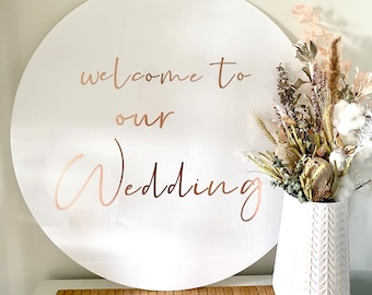 Pick Up // VIC ONLY HIRE - Wedding sign | Wedding decor | Sign hire