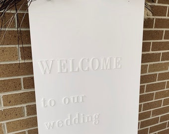 Pick Up // FOR HIRE - VIC    Signs   Welcome sign   Wedding reception   Party Prop   sign stand   backdrop