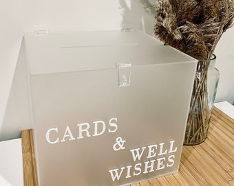 Pick Up // VIC ONLY HIRE - Wedding Engagement decor | Cards & Well Wishes | Cards + Gifts. Wishing well box