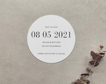 PRINTED // Save the Date Cards // Getting Married, Wedding Stationery, Save our Date. Colour Options Available