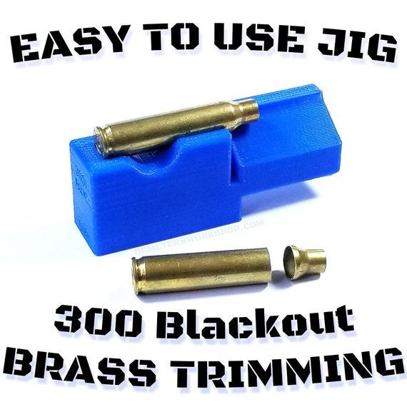 300 blackout  forming 300 blackout trim Whisper 300 blackout case cutting jig