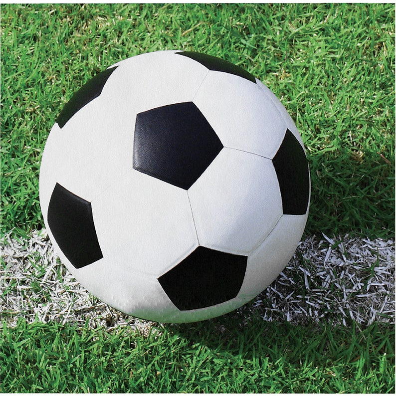 Sports Birthday Party Banquet Tableware Supplies 8ct Soccer Paper Cups
