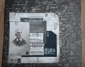Vintage Poison Collage