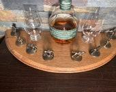 Blanton's Bourbon Barrel Lid Cork Display, Blantons Whiskey, Whisky
