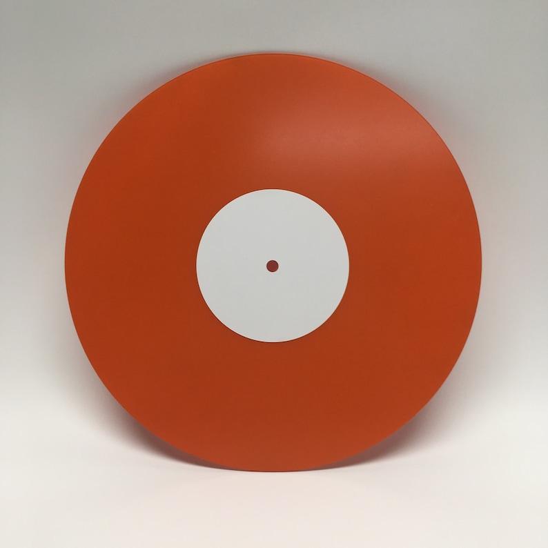 10 Custom Mixtape Vinyl Record Orange your best image 0