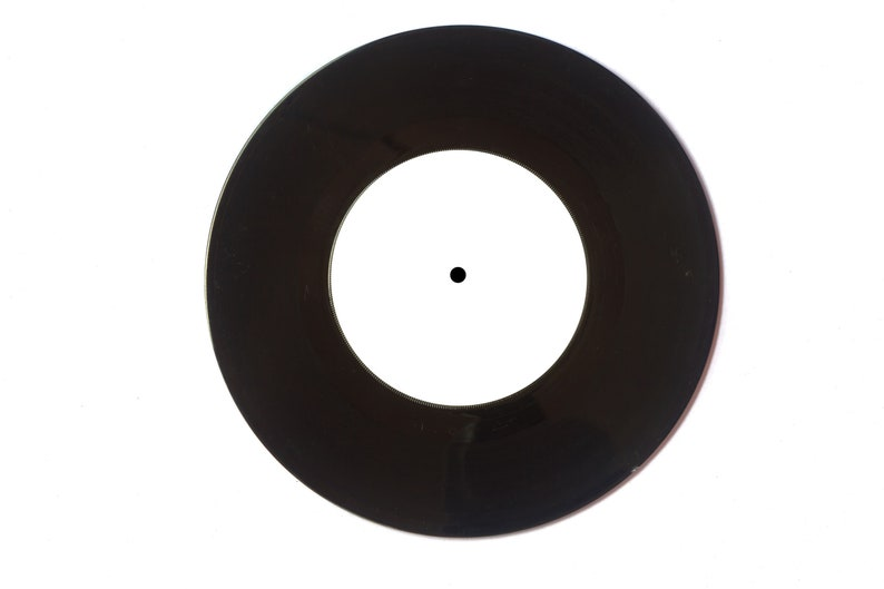 7 Mixtape Vinyl Record Small Hole Black or Clear fully image 0