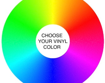 """FULLY Custom 12"""" Two Sided Mixtape Vinyl Record -  22 minutes and 6 tracks Per Side = Choose ANY Color Vinyl AND Choose Your Songs"""