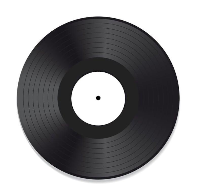 10 Mixtape Vinyl Record Black fully custom your best image 0