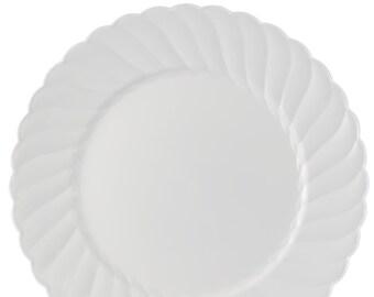 Fancy Plastic Plates Etsy