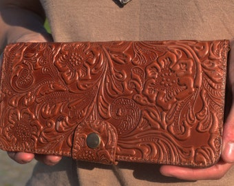 Leather wallet Hand purse Female wallet