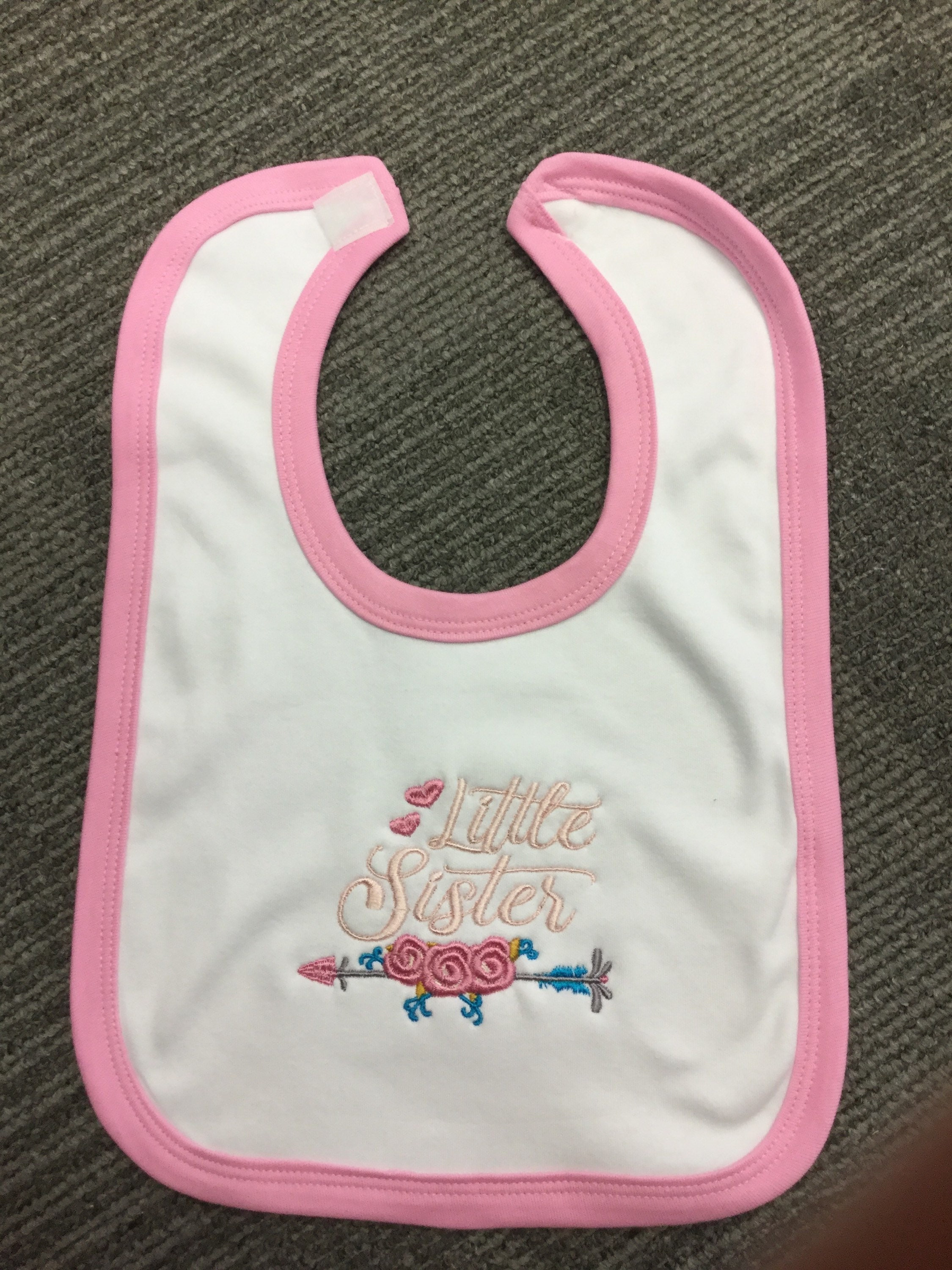 Special Guest Embroidered Baby Bib Gift Personalised Wedding
